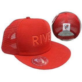 64b3d5a739e1c Visera De River Plate Roja - Accesorios de Moda en Mercado Libre ...