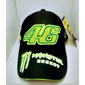 fc92948d5e26e Gorra - Valentino Rossi Vr46 Monster Energy..negra