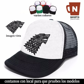 6fc610b0129f9 Game Of Thrones Gorra Trucker Coleccion Casa Stark Lobo Nice