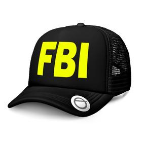 c605c26ebbb27 Gorra Trucker Fbi Policial