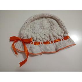 5c4a4c501de62 Gorros Y Capelinas Para Bebes Y Niños Tejidas Al Crochet - Ropa y ...