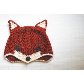 Gorros Tejidos  Zorros Fox