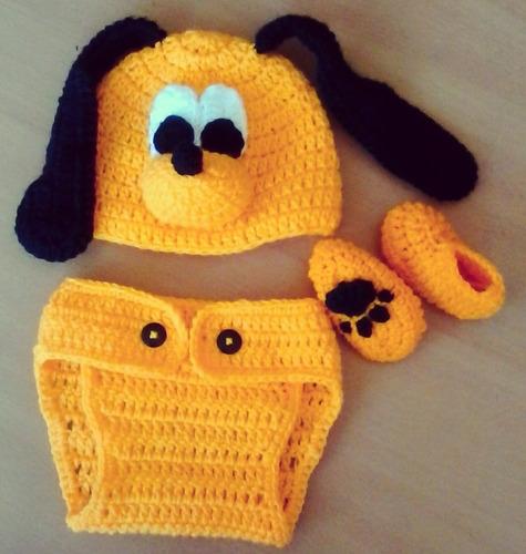 gorros tejidos a crochet para bebes