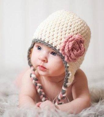 Gorros Tejidos Crochet Bebé Niña Niño Regalo Babyshower Dhl ... c21e6946e53