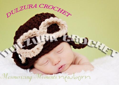 gorros tejidos crochet bebés niña niño regalo babyshower dhl