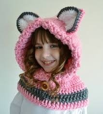 Gorros Tejidos Crochet Tipo Capucha Para Niña 1-9 Años -   200.00 en ... 612828fea61