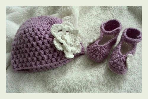 gorros tejidos para bebe