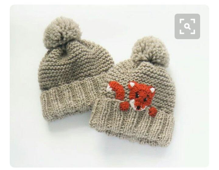 Gorros Tejidos Para Su Bebe Y Adultos De Navidad - Bs. 1.500 adb641351bf