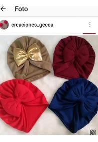 Gorros Turbantes Bandanas Para Bebe Y Niñas