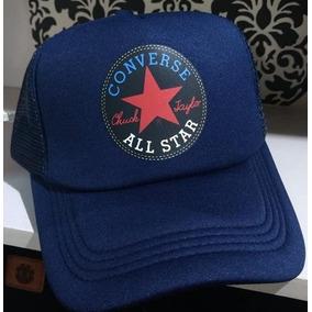 74db0edbe Gorra Trucker Custom Converse All Stars Ajustable