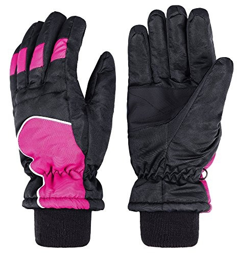 gorros wantdo women's windproof thinsulate warm ski gloves i