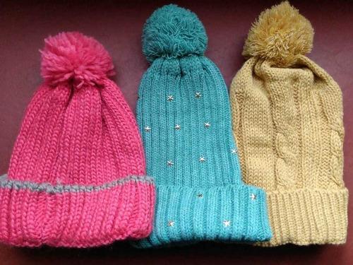 gorros y accesorios de lana