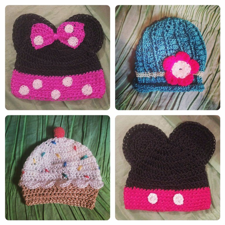 fddbbda68fe8b Gorros Y Boinas Tejidos En Crochet - Bs. 0