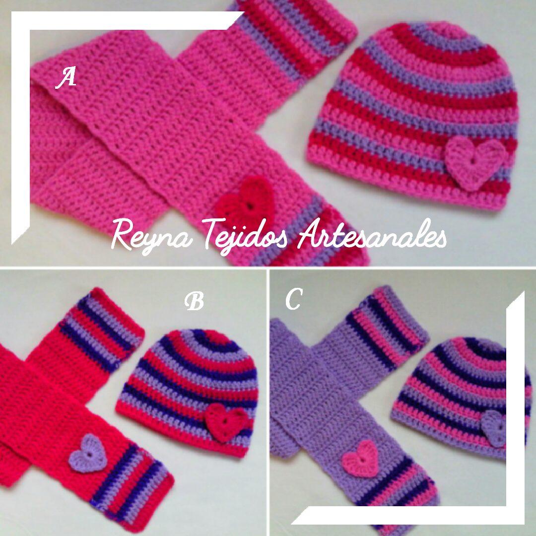 gorros y bufandas a crochet - reynas tejidos artesanales. Cargando zoom. 91be241fa48