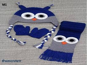 fotos oficiales gama exclusiva disponibilidad en el reino unido Gorros Y Bufandas De Varon Tejidas A Crochet