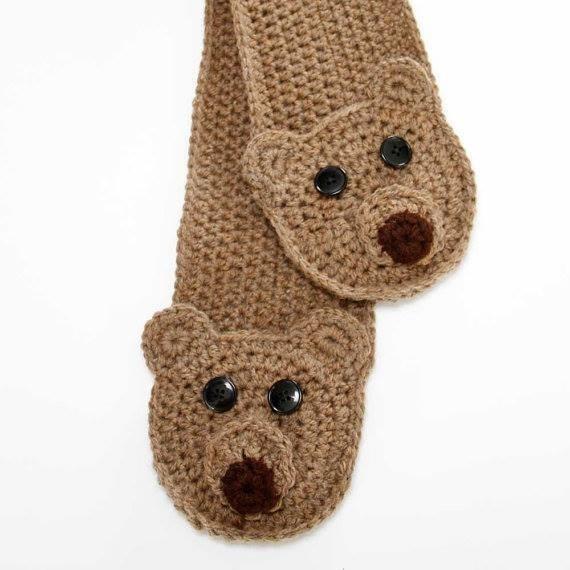 gorros y bufandas infantiles
