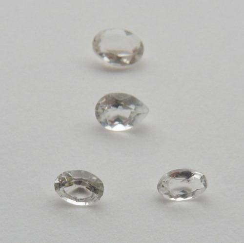 goshenita natural família da esmeralda preço de 4 gemas 5150
