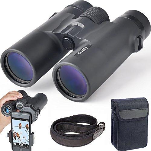Gosky 10x42 Binoculares Para Adultos, Compacto Hd Profesiona ...