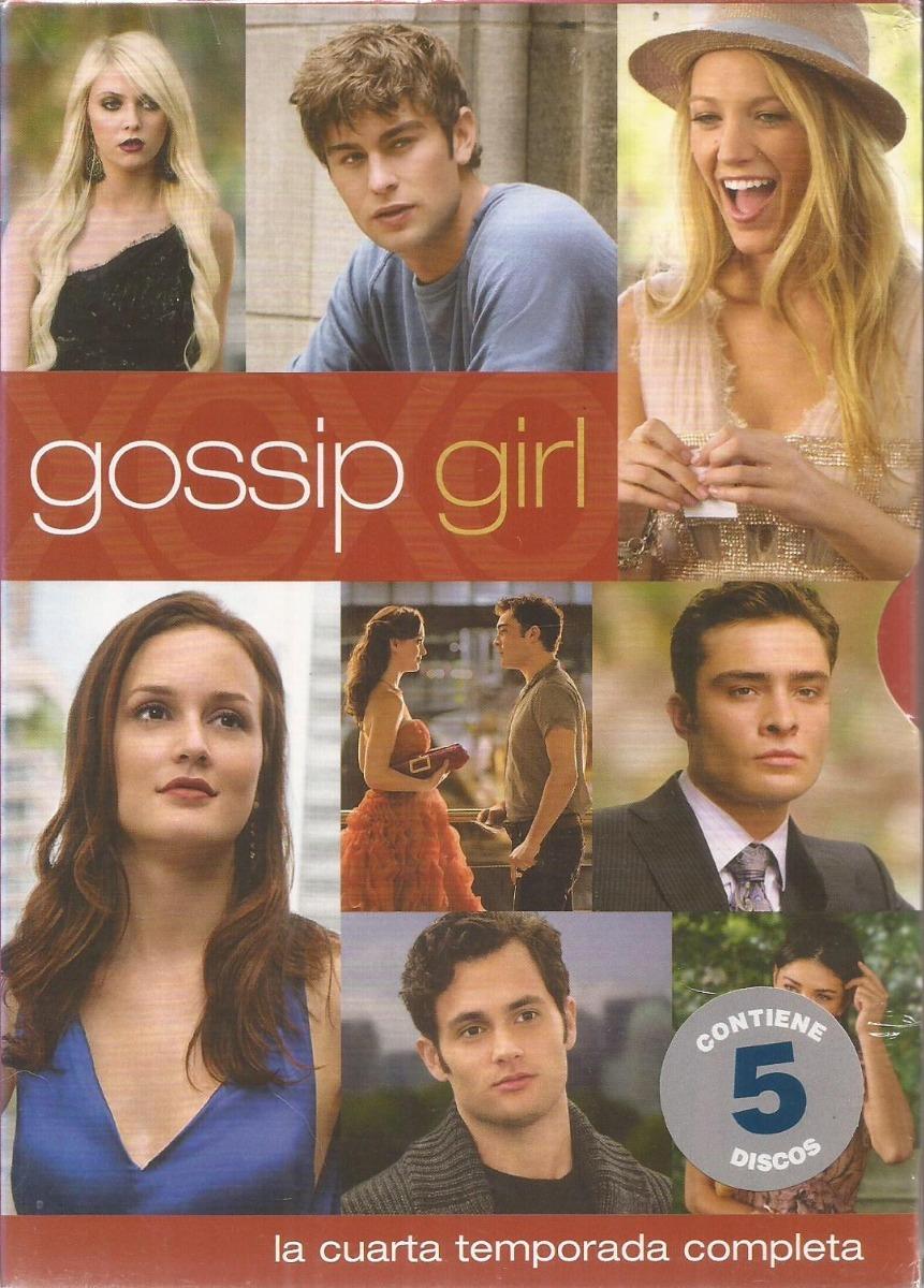 Gossip Girl La Cuarta Temporada Completa Dvd Nuevo Cerrado - $ 270,00