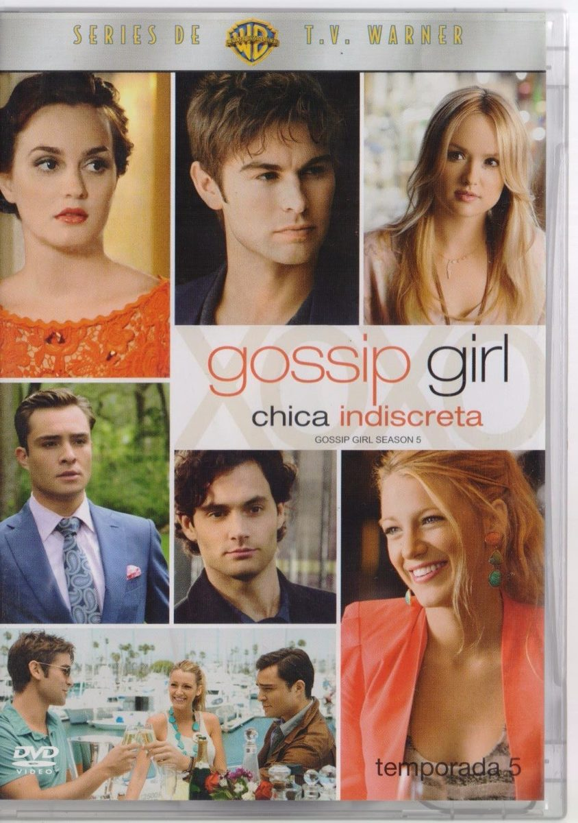 Gossip Girl Temporada 5 Cinco Serie Semi Nueva En Dvd - $ 209.00 en ...