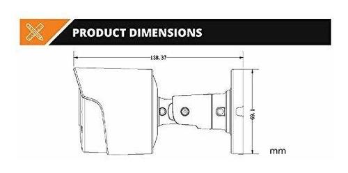 goswift   cámara ip de seguridad 4k ultra hd resistente a la