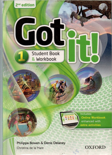 got it!  level 1 - students book & workbook 2nd edition