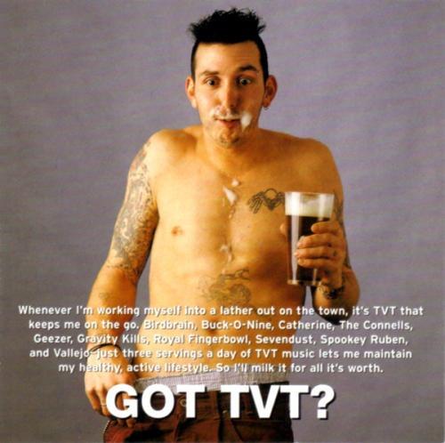 got tvt? label sampler