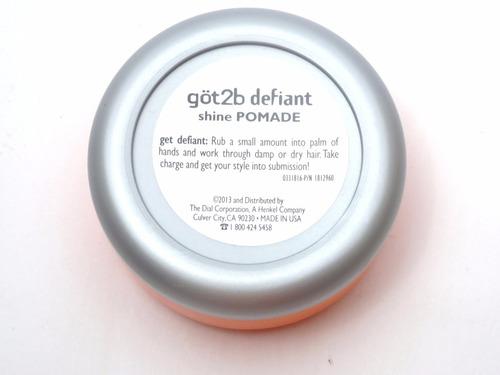 got2b shine pomade defiant men's pomada p/ cabelo