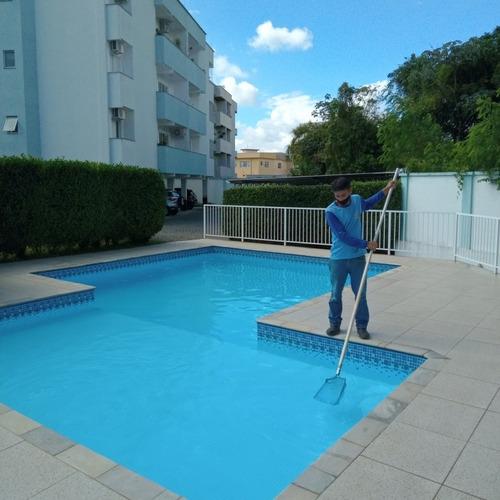 gota d'agua limpeza de piscinas