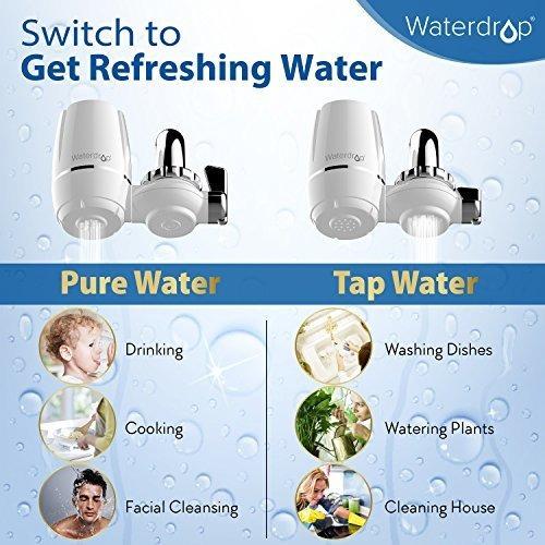 gota de agua 320gallon llave de agua sistema de paso de larg