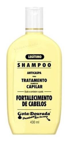 gota dourada tradicional shampoo 430ml
