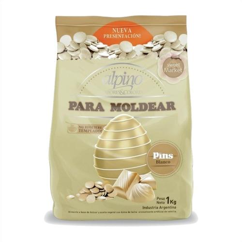 gotas chocolate alpino lodiser 1kg - ciudad cotillón envios