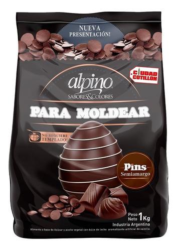 gotas chocolate alpino lodiser x 1kg - ciudad cotillón