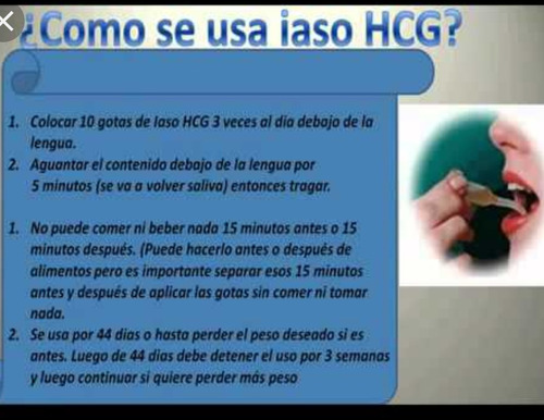 gotas hcg 1234 originales envio gratis