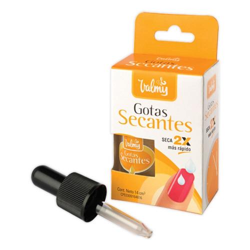gotas secantes valmy pintura de uñas