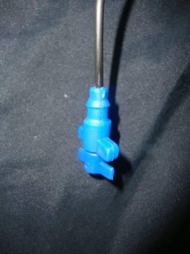 gotejador c/  mangueira / microtubo espaguete 1m 20 unid.