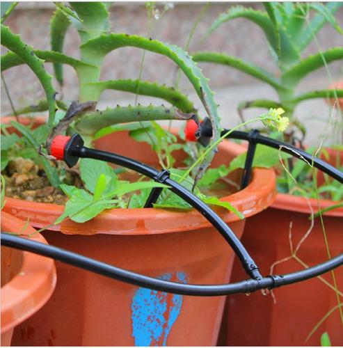 gotejador regulável - irrigação - kit 50 unidades