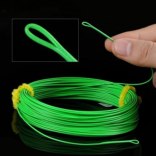 goture fishing fly line peso flotante adelante taper con wel