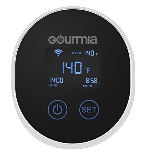 gourmia gsv150b wifi sous vide precisión olla de inmersión