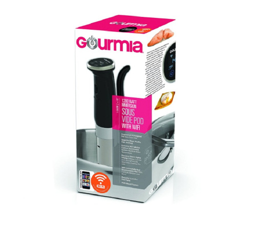gourmia gsv150b wifi sous vide, runner coccion al vacio