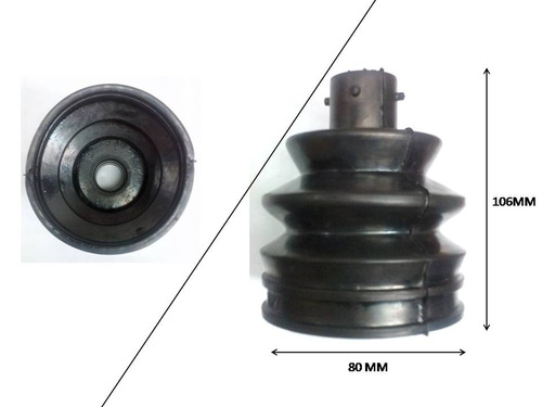 gp-027 goma guardapolvo punta tripoide l rueda vw jetta