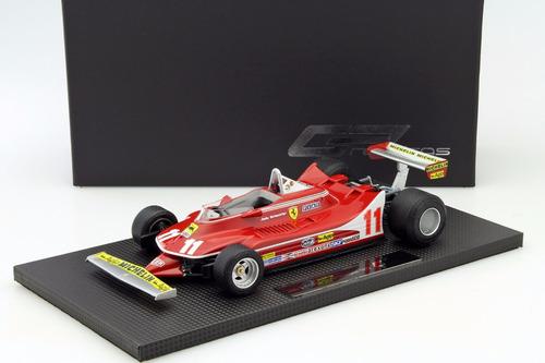 gp replicas 1/18 ferrari 312 t4 scheckter f1 1979 minichamps