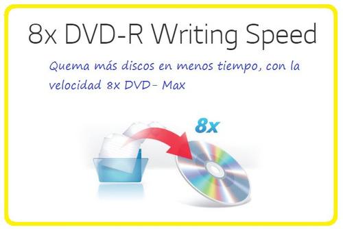 gp65n quemador lector externo lg dvd y cd ultra slim usb