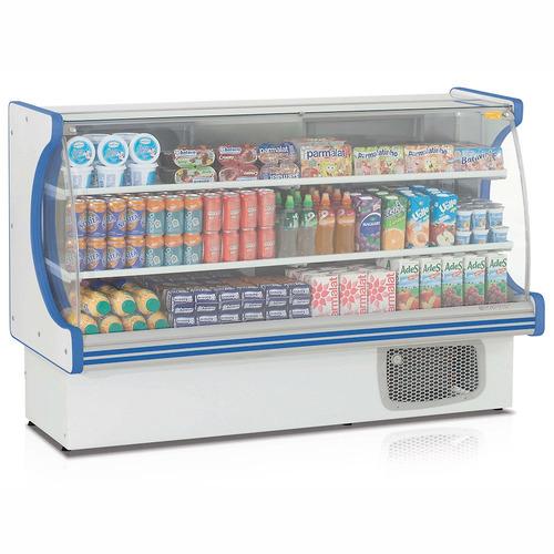 gpdv-175 balcão frigorífico 2 placas fria gelopar 220v azul