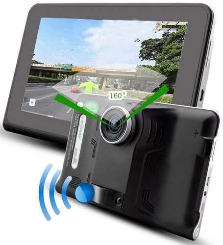 gps 7  - tablet wifi android cámara dash dvr radar policia