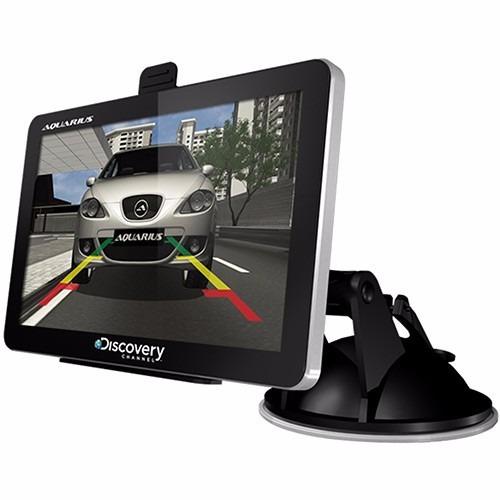 gps aquarius discovery 3d 4.3  com tv digital e camera de ré