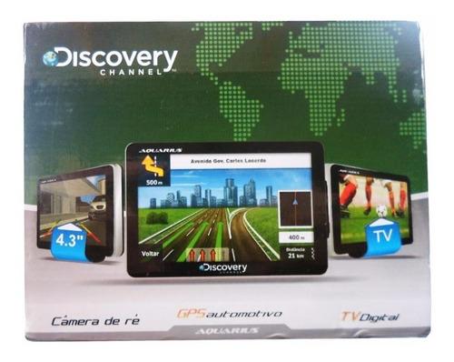 gps aquarius discovery 4.3'' slim 3d tv digital camera de ré