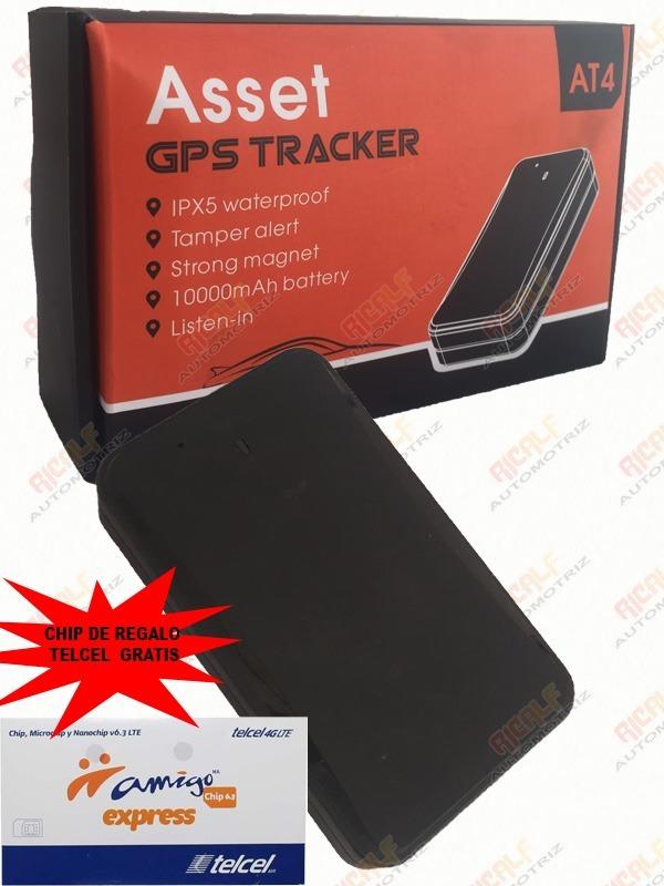 Gps At4 Portatil Iman Rastreador Localizador App Plataforma