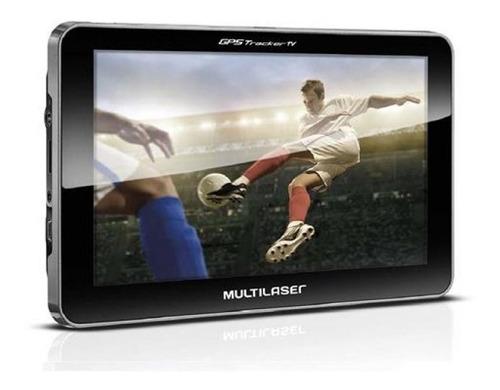 gps auto multilaser tracker iii tela 7 pol. tv digital gp038