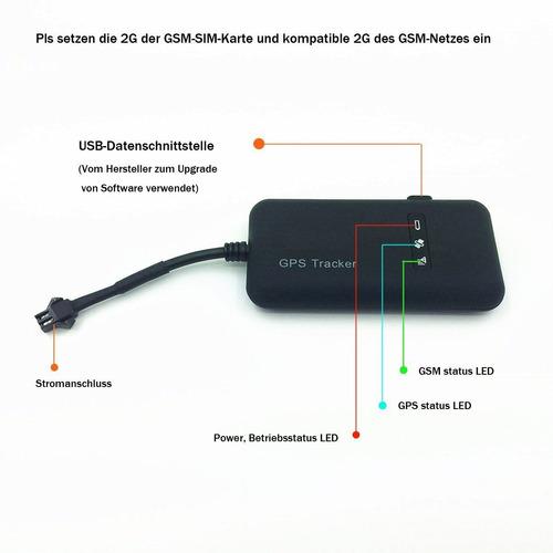 gps auto tracker gps /sms /gprs tiempo real / 19011